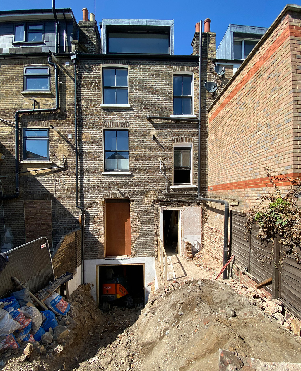 Recording Studio Project, Victoria Park Village, E9. Design & Build by Carlund